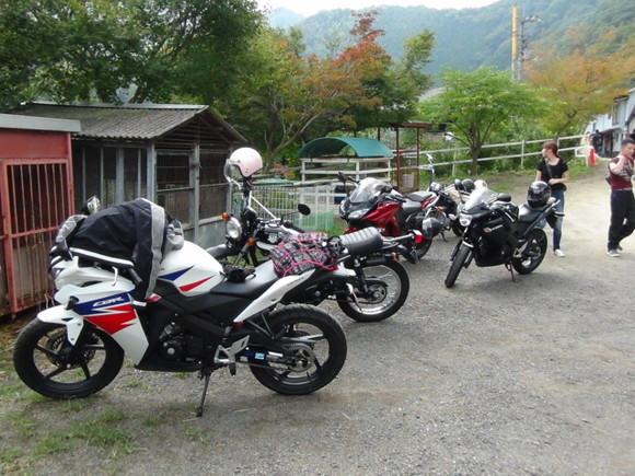バイクツーリング風景