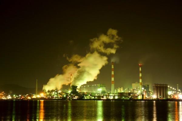工場夜景ゴールド