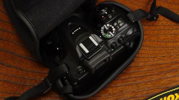 カメラとの隙間