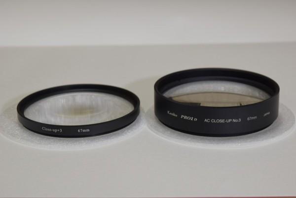 レンズフィルター比較