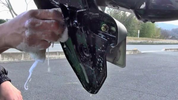 バイク洗車5