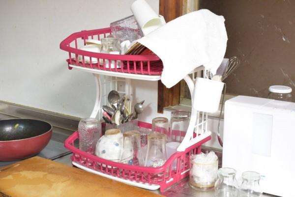 樹脂製食器立て
