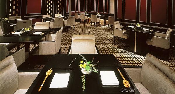 日本料理の店内