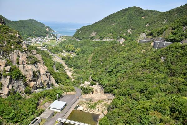 吉田ダムからの景色3