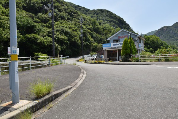吉田ダム交差点2
