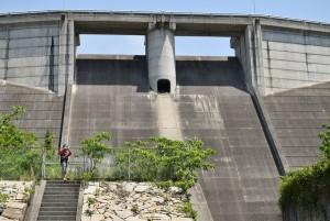 粟地ダム2
