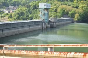 殿川ダム水位