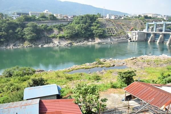 吉野川と池田ダム