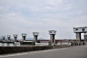旧吉野川河口堰 ダムカード