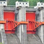 【ダムカード徳島県】正木ダム!真紅のラジアルゲートがカッコいい!ダムへの行き方がとにかく遠くて迷う