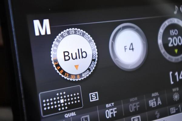 Bulb カメラ設定