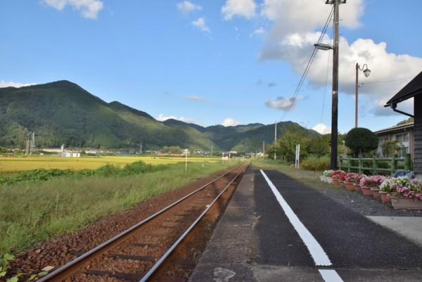 隼駅 線路