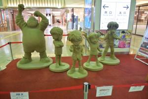 鳥取駅 砂アート コナン