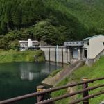 【ダムカード鳥取県】佐治川ダム!湖が凍るほどの秘境ダム!国道482号は走りやすくツーリングにおすすめ