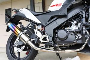 マフラー交換 バイク CBR125R