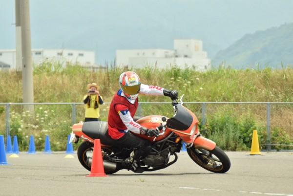 MSGC つな講習 バイク ジムカーナ 香川
