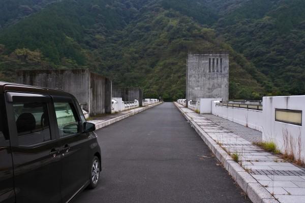 中筋川ダム 堤頂