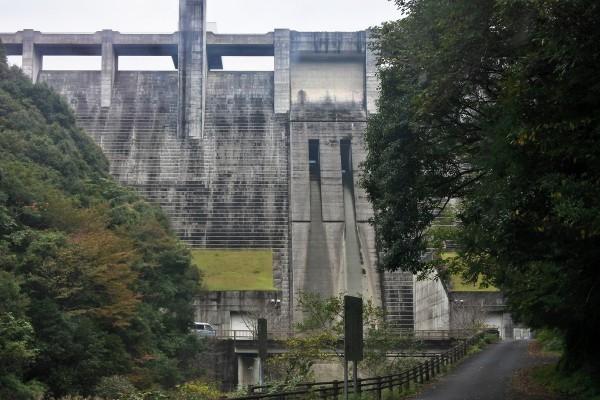 中筋川ダム下側