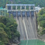 【ダムカード徳島県】長安口ダム!ゲートを増やす大改造計画?県内最大のダムが大迫力