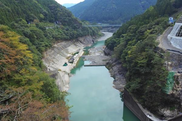 長安口ダム 那賀川