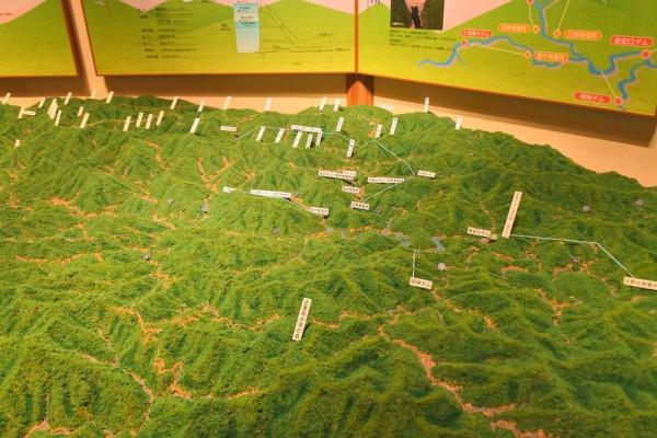 徳島の山々 長安口ダム