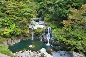 徳島 大轟の滝
