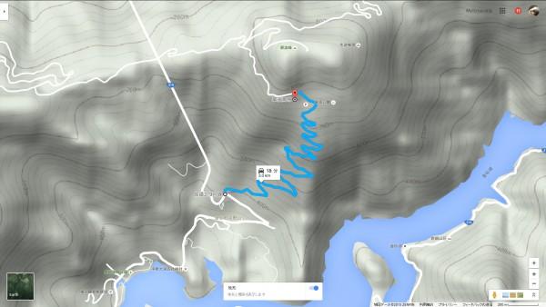 翠波高原 道