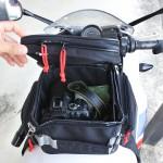 日帰りツーリングの荷物持ち運び6選!積載方法の比較とレッグバッグとタンクバッグのメリット