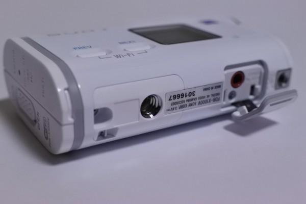 アクションカムX1000V 外部マイク