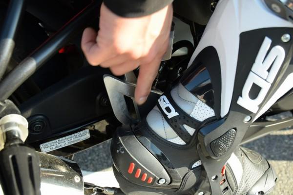 ヒールプロテクター 靴 CBR125R レーシングブーツ プロテクター