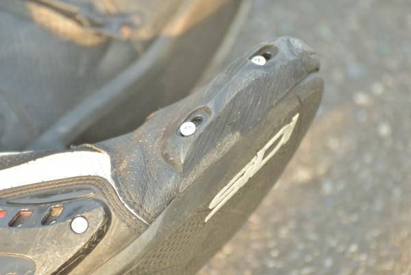 SIDI ブーツ ジムカーナ トースライダー 自作