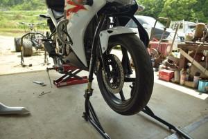 フロントスタンド バイク用