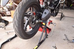 リアスタンド バイク CBR125R