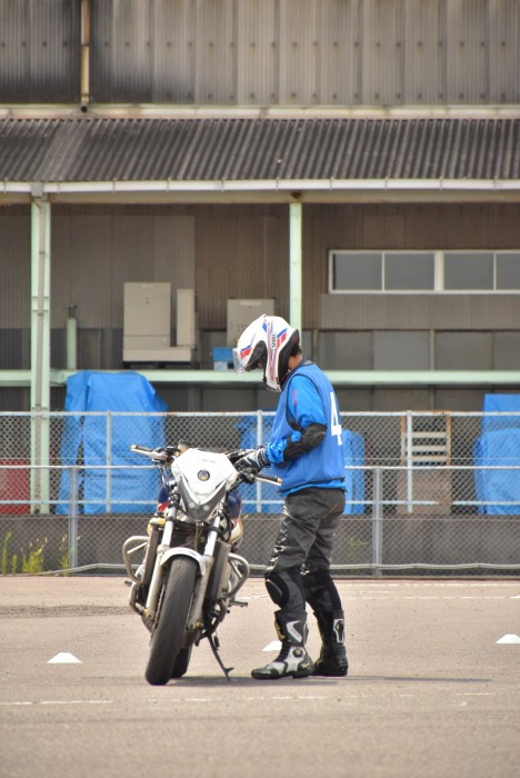 トライジムカーナ大会 NSR Bクラス