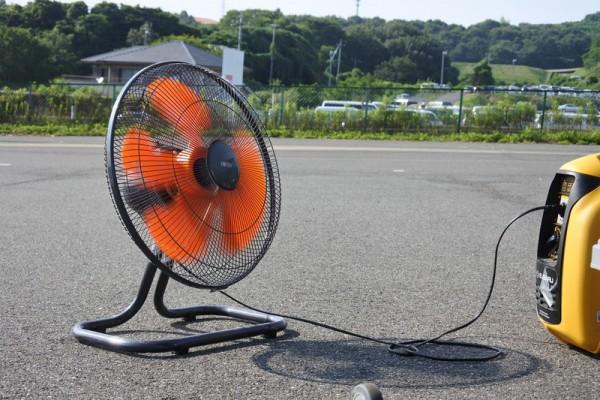 ジムカーナ準備物 夏 暑い