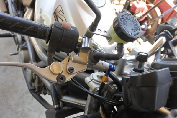VTR250 ブレーキ オーバーホール