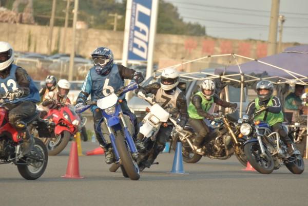 トライジムカーナ 2016 バイク 大会 岡山