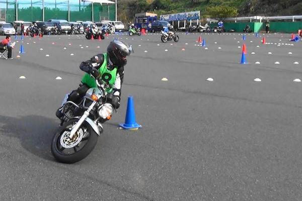 ジムカーナ VTR250 セッティング バイク しま