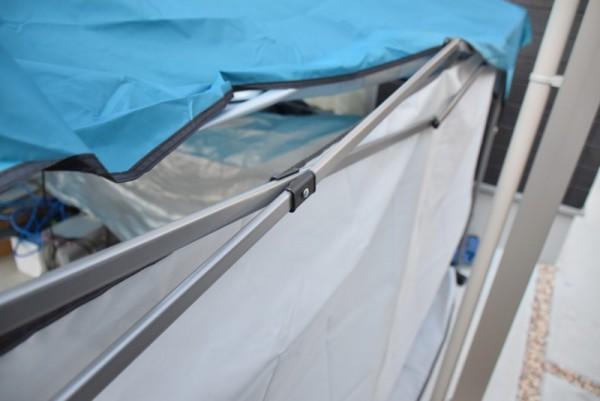 カンタンタープ タープ おすすめ サイドウォール 横幕