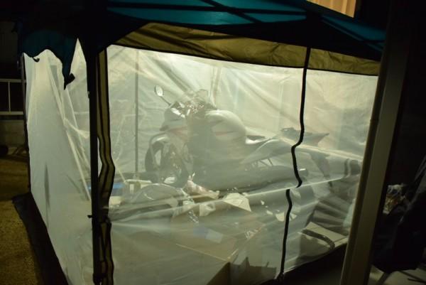 カンタンタープ タープ おすすめ メッシュスクリーン 虫 蚊帳