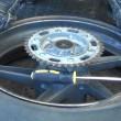 バイク タイヤ交換 手組み タイヤレバー