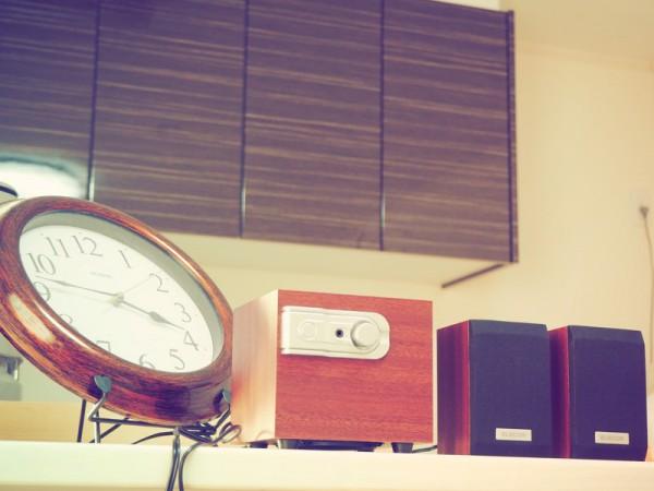 小さい木のスピーカ エレコム MS-W02WCH サブウーファー 低音