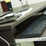ニトリで買ったパソコンデスクが超使える!(ファウラー80)身長による適正な机と椅子の高さがあるらしい