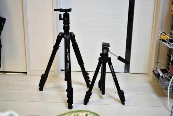K&F 三脚 中国 TM2524 スリック コンパクト2