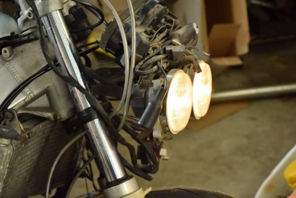 CBR400RR 車検 ユーザー車検 ヘッドライト