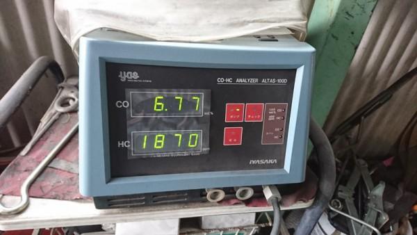 CBR400RR 車検 ユーザー車検 排ガス基準