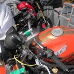 VTR250ハンドルポジション考察【ACTIVE ファナティック】取り付けレビュー