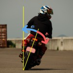 【バイクでバンクが怖い人へ】曲がらない・転倒の理由と遠心力の使い方