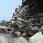 """国指定の天然記念物、香川県""""ランプロファイア岩脈""""と雨滝城跡へバイクでお出かけ"""