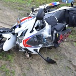 新車フルカウルバイクで押しゴケ・・・押している時に倒す!立ちゴケよりダサい倒し方と倒さないコツ